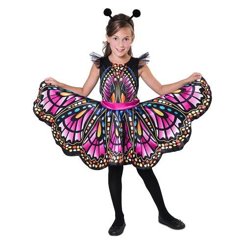 Disfraz Mariposa Fucsia Niña