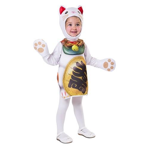 Disfraz Gatito De La Suerte Infantil