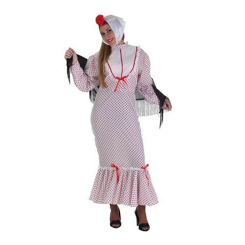 Costume adulte Chulapa rouge
