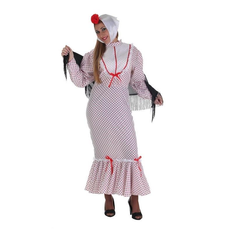 Costume adulte Chulapa rouge