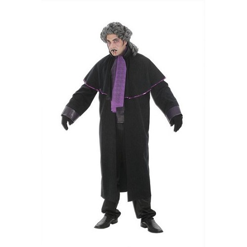 Purple costume adulte Vampire sans perruque