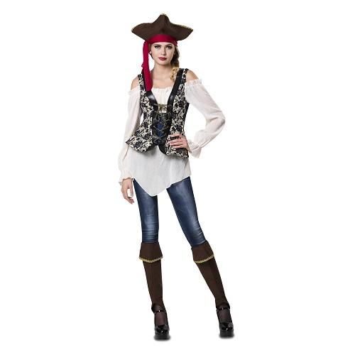 Disfraz Señorita Pirata Mujer