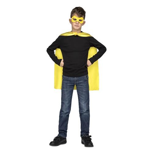 Capa Super Heroe Amarilla Infantil