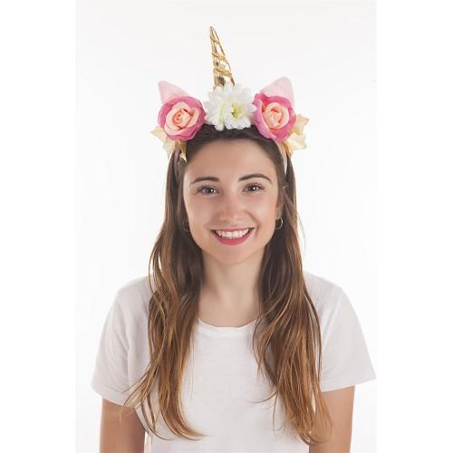 Diadema Unicornio Rosa