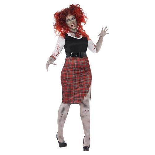 Disfraz Secretaria Zombie Adulto