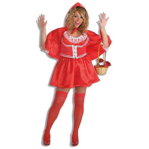 Costume adulte chaperon rouge