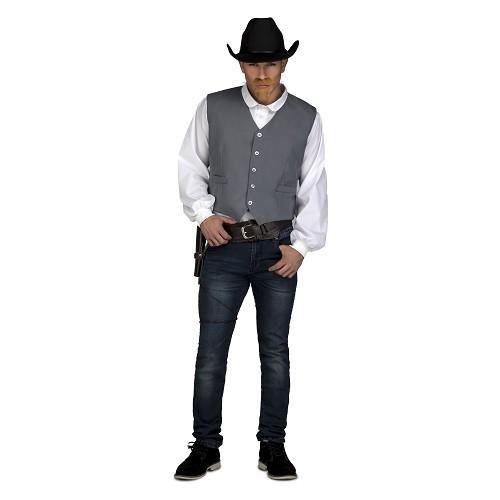 Disfraz Chaleco Vaquero Hombre