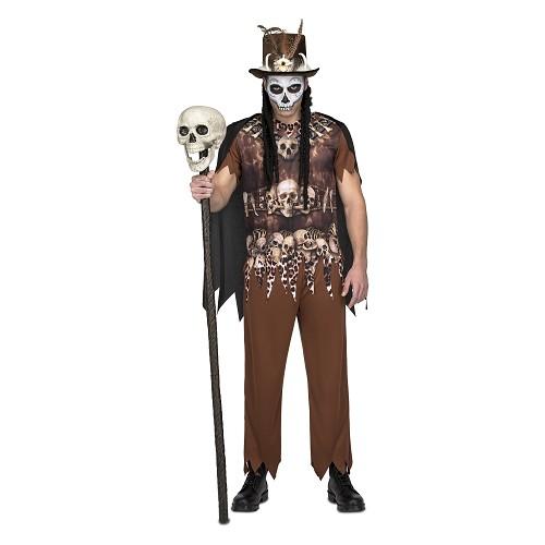 Disfraz Voodo Canibal Hombre