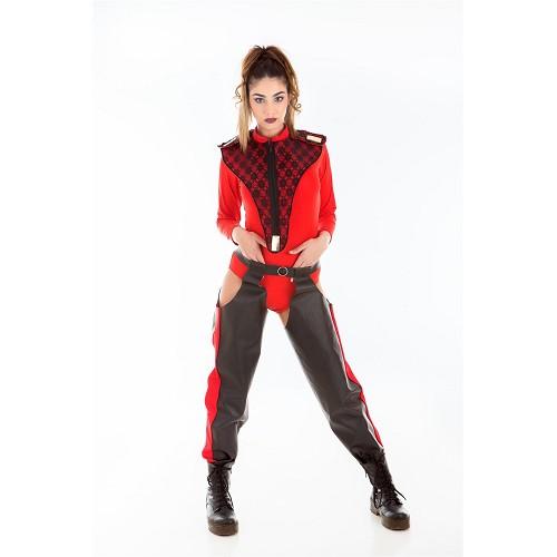 Disfraz Cantante Pop Flamenquita Adulto