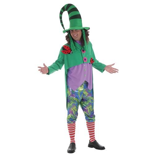 Costume adulte elfe vert