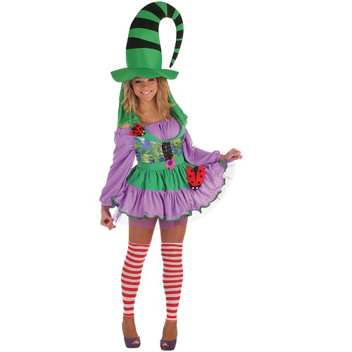 Costume adulte Duendecilla vert