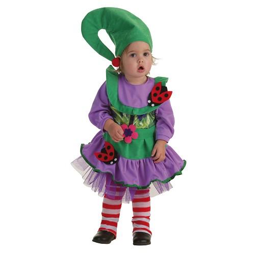 Costume bébé Duendecilla vert (0 à 12 mois)