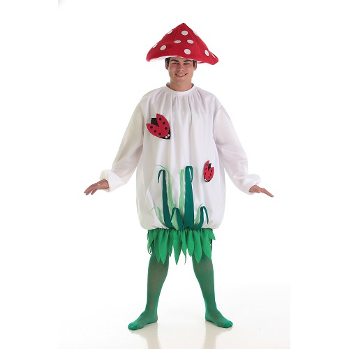 Homme adulte costume aux champignons