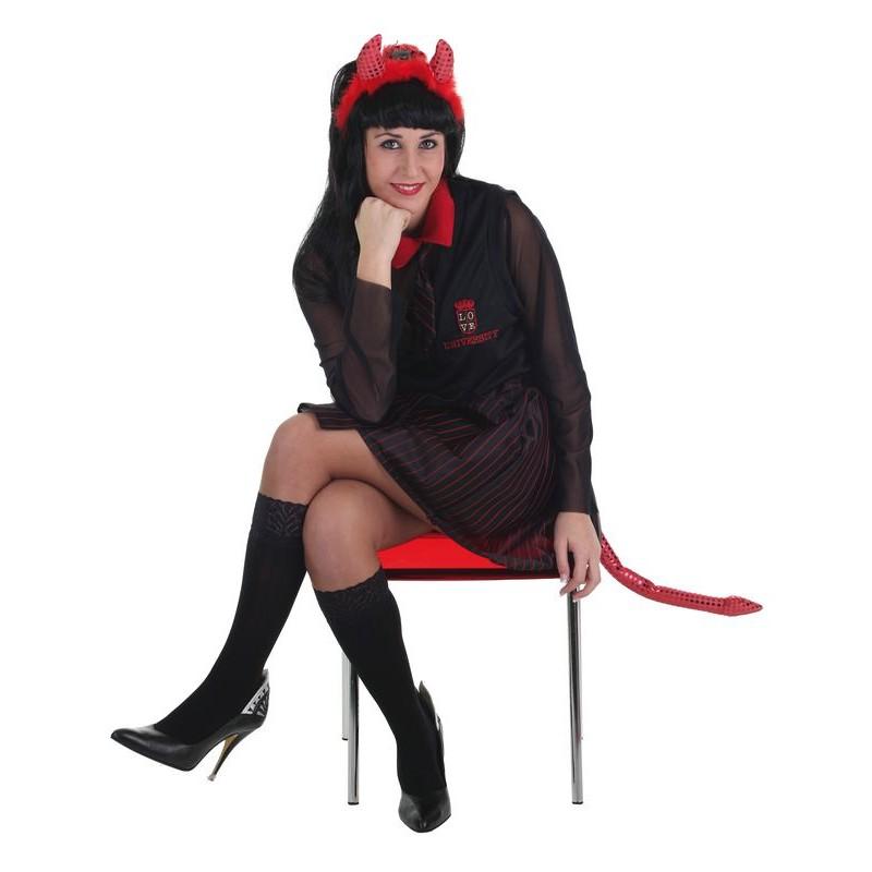 «Écolière adulte costume diabolique»
