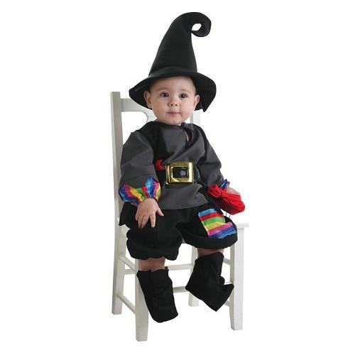 Costume bébé Colorines Warlock (0-12 mois)