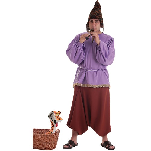 Costume adulte joueur de flûte médiévale