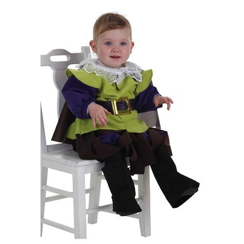 Mousquetaire de costume bébé (0 à 12 mois)