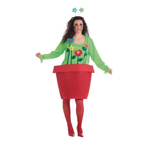 Femme costume adulte pot