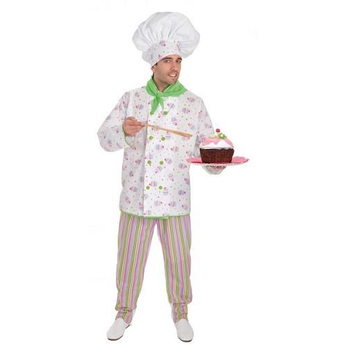 Costume adulte Chef pâtissier