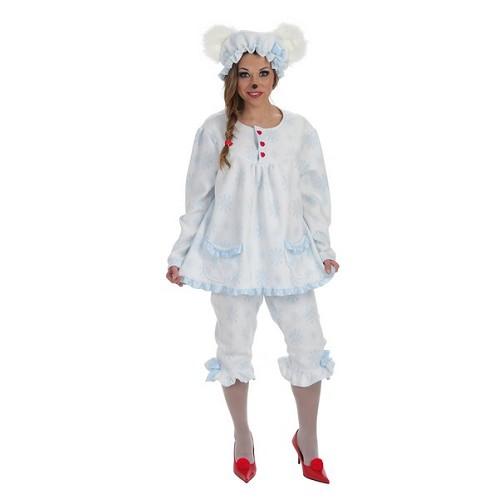 Dormilona ours adulte costume