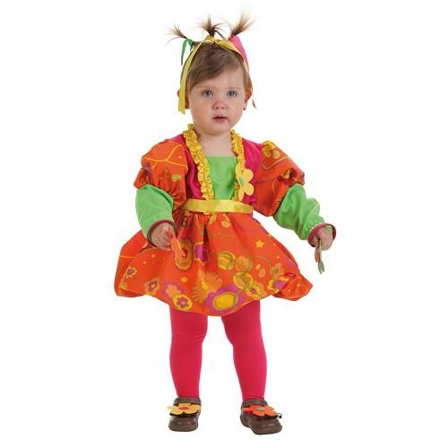 Clown de bébé costume giggles (0 à 12 mois)