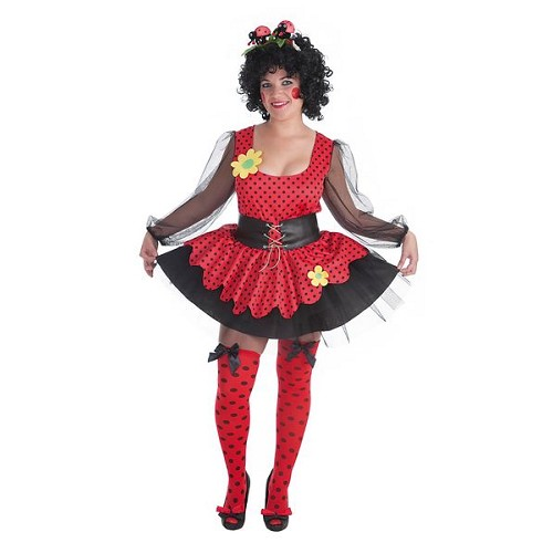 Homme costume adulte coccinelle