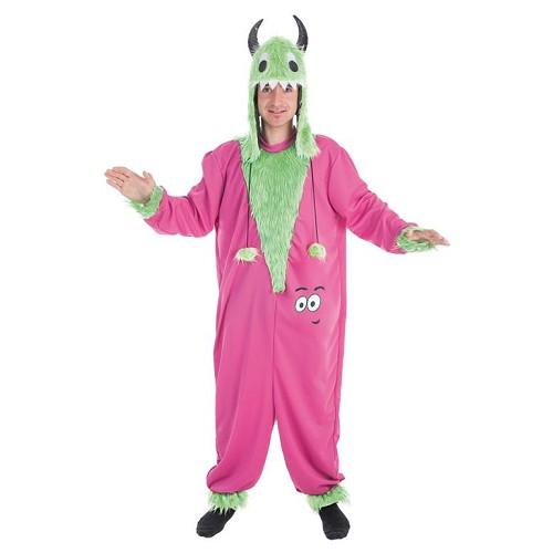 Peluche costume adulte monstre vert