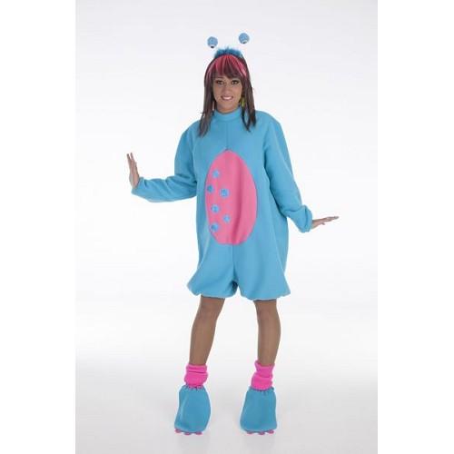 Costume adulte Monstruita bleu