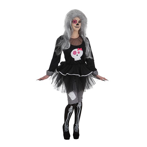 Costume adulte Skeleta