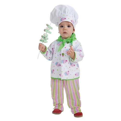 Costume bébé Baker (0-12 mois)