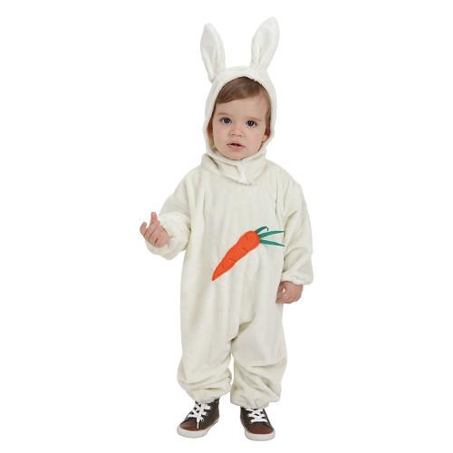 Costume bébé lapin carotte (0-12 mois)