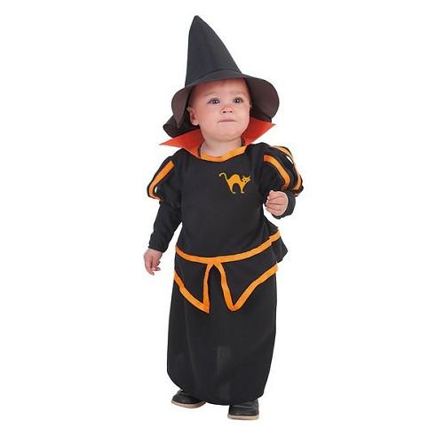 Costume de sorcière bébé Carol (0-12 mois)