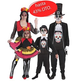 Costumes Catrina et Morts
