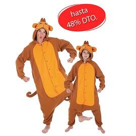 Costumes de singe drôle