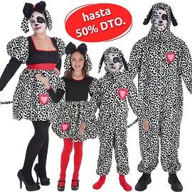 Costumes de Coeur Dalmatien