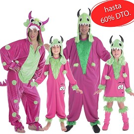 Costumes Monstre Vert Mimiso