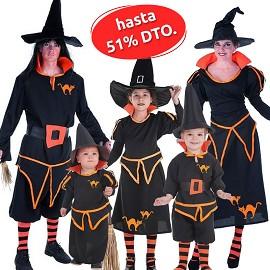 Assistant de costumes et de sorcière
