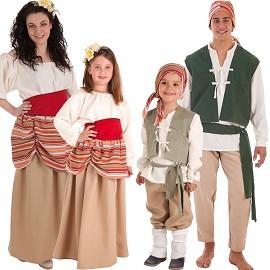 Costumes de Paysan Carlos et Carlotta