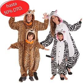 Costumes Cheetah et Zebra