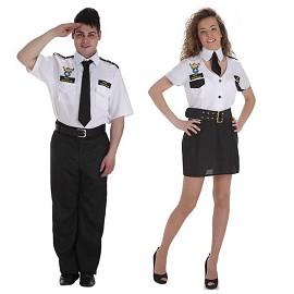 Disfraz Capitán Aviación y Capitana