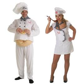 Disfraz Cocinero y Cocinera