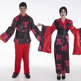 Disfraz de China y Chino