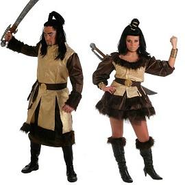 Costumes de Roi Barbare