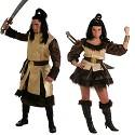 Disfraz de Rey Cosaco y Reina Cosaca