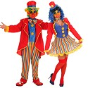 Costumes de Clown Lolo et Lola