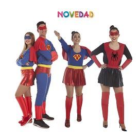 Disfraces Superhéroe y Superheroína