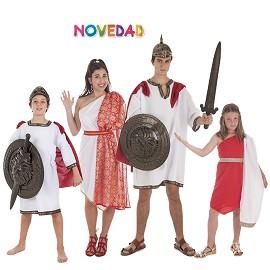 Disfraces Centurión y Romana