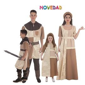 Disfraces Caballero y Dama Cruzada