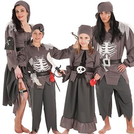 Costumes de Pirate Squelette