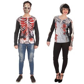 Camiseta Halloween pareja